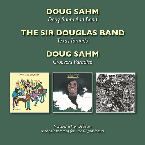 CD : Doug Sahm - Doug Sahm & Band / Texas Tornado / Groovers (United Kingdom - Import, 2PC)