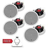 NOVIK NEO NWS-6120 In-Wall | Ceiling Speaker 32W ( Set of 4 Speakers + 1 WRC 30 (free
