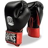 Cleto Reyes Extra Padding Training Gloves - Velcro - Black - 14-Ounce