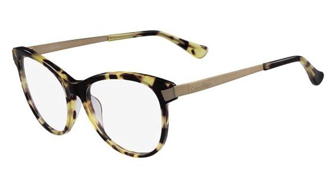 dd905fbf34 Calvin Klein Platinum - CK5920, Cat eye, acetato, mujer, BLONDE HAVANA(214  D), 55/17/135: Amazon.es: Ropa y accesorios