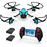 KAI DENG K80 PANTONMA RC Drone Quadcopter With 2MP 720P Wifi Camera, Altitude Hold, Headless Mode (Pantonma with Wifi 2MP camera)