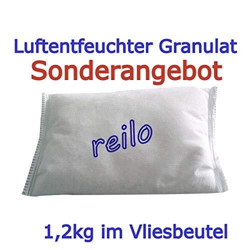 10 x 1,2 kg de granulado deshumidificador en bolsa de fieltro ...