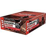 CLIF BUILDER'S - Protein Bar - Chocolate - (68 Gram Non-GMO Bar, 12 Count)