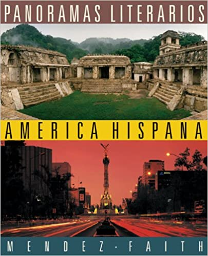 Amazon panoramas literarios america hispana world languages panoramas literarios america hispana world languages 2nd edition fandeluxe Gallery