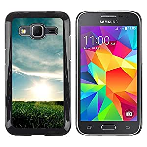 EJOY---Cubierta de la caja de protección la piel dura para el / Samsung Galaxy Core Prime / --Hermoso prado