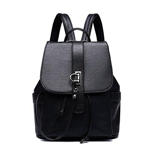 Ddfly - Bolso mochila  para mujer, azul (azul) - ZCA003 negro