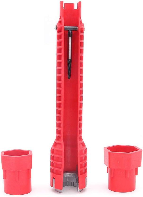 Nuzamas Cl/é /à sertir pour robinet d/'/évier multifonction Pince de plomberie Mitigeur de salle de bain Cuisine Outils d/'installation de robinet