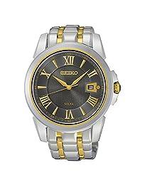 Seiko SNE398 Men's Le Grand Sport Two-Tone Bracelet Band Brown Dial Watch by Seiko Watches