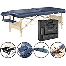 """Master Massage 30"""" Coronado Portable Massage Table Package,Royal Blue with Free Accessories"""