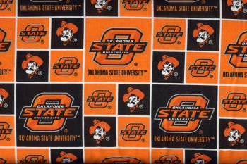 Oklahoma State University By Sykel - 100% Cotton 44