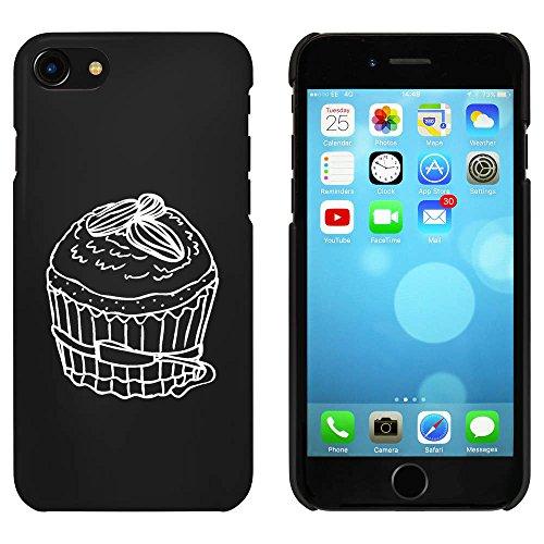 Noir 'Petit Gâteau' étui / housse pour iPhone 7 (MC00071005)
