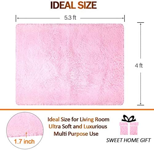 home, kitchen, home décor, area rugs, runners, pads,  area rugs 2 on sale Noahas Super Soft Modern Shag Area Rugs Fluffy deals