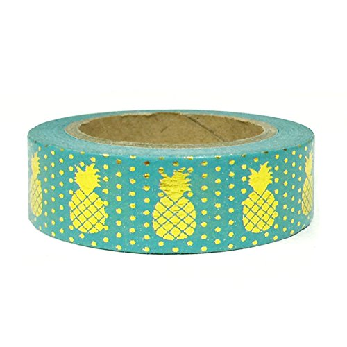 Wrapables Colorful Masking Golden Pineapple