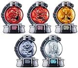 Bandai Shokugan Uchu Sentai Kyuranger SG Kyutama 4 Set
