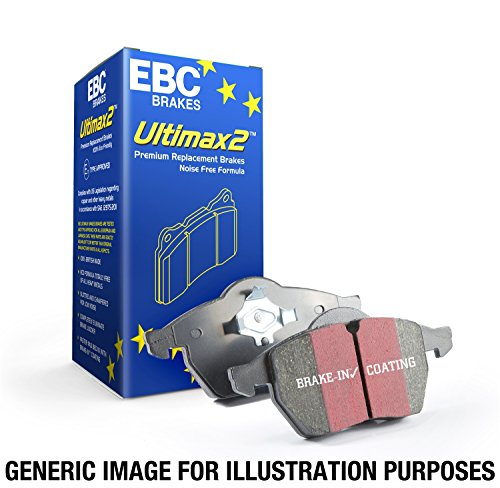 2002 Ultimax Discs - EBC Brakes UD436 Ultimax OEM Replacement Brake Pad