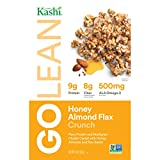 Kashi GOLEAN, Breakfast Cereal, Honey Almond Flax Crunch, Non-GMO Project Verified, 14 oz(Pack of 4)