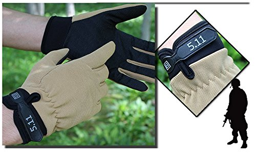 10399f0efe7a8 1 Pair of US Military 5.11 Tactical Gloves, Outdoor Full-Finger-Gloves For