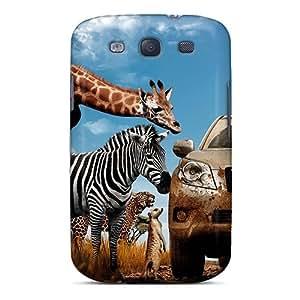 XiFu*MeiExcellent Design Toyota Prado Phone Case For Galaxy S3 Premium Tpu CaseXiFu*Mei
