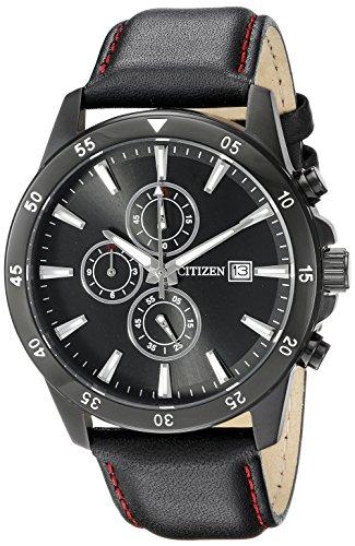 Citizen Men's AN3575-03E Analog Display Japanese Quartz Black Watch