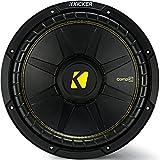 "Kicker CWCD104 CompC 10"" Subwoofer Dual Voice Coil 4-Ohm"