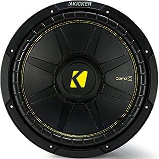 Discount Kicker 12 Inch CompC 300 Watt RMS 4 Ohm Single Voice Coil Subwoofer | 44CWCS124