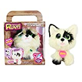 #8: KD Kids Rescue Runts Spotty Plush Dog, White/Black