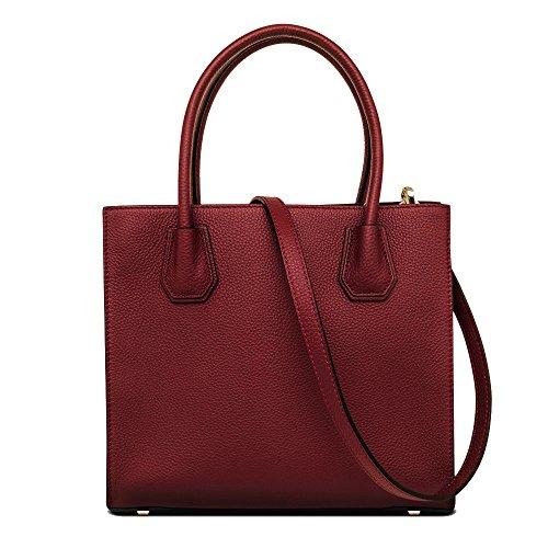 - Cowhide Genuine Leather Bag Tote Purse Shoulder Bag Full Grain Cowhide Leather Handbag With Removable Shoulder Strap