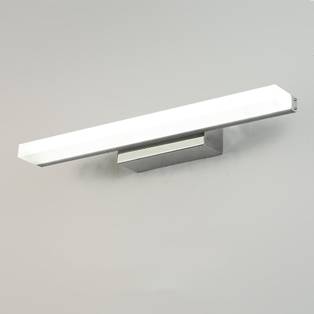 Weiãÿ7w40cm &Spiegelleuchte LED-Spiegel Scheinwerfer, wasserdicht Nebel Badezimmer Spiegel Schrank Lichter Kupfer Acryl (Farbe   Weiß-7w40cm)