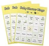 Baby : Baby Shower Bingo Game, 72 Piece