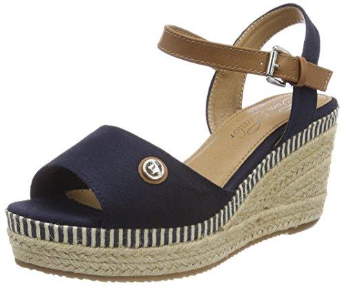 Tom Blue Ankle Women's 4890709 navy Sandals Tailor Strap B41BFHg
