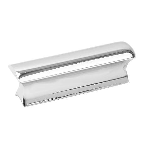 1 x barra de acero inoxidable Slide para guitarra eléctrica instrumentos de cuerda