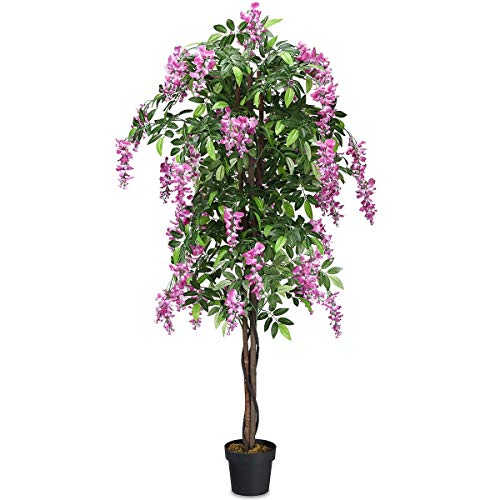 SAFEPLUS Artificial Ficus Tree for Indoor Outdoor (Tree Artificial Outdoor)