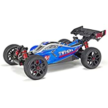 ARRMA TYPHON 6S BLX Brushless 4WD RTR Electric RC Buggy (Lipo Battery Required), 1:8 Scale (Blue and Silver)