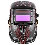 Utheing Professional Auto-darkening Welding Helmet Best Protective Welding Hoods Shield 4 Inch Viewing Area Solar Welder Mask Grinding Mask (Shantou)