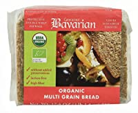 Genuine Bavarian Organic Multi Grain Bread -- 17.6 oz