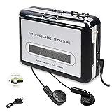 Electronics : Cassette Player, Portable Cassette Tape Converter, Convert Cassette Tape to MP3 CD Via USB