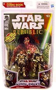 Star wars comic book action figures