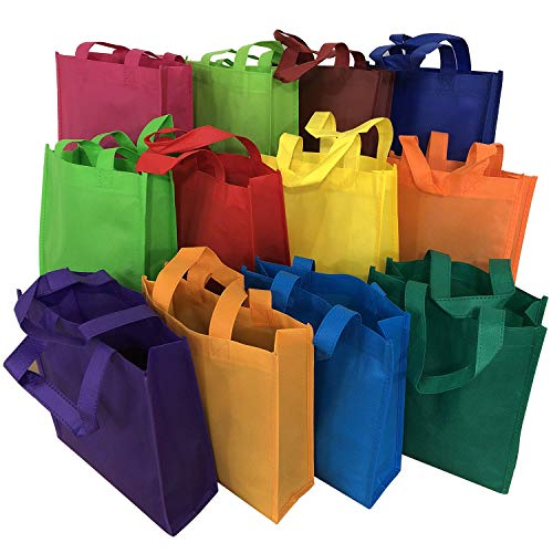 Axe Sickle 12 Color Non Woven Party Favor Bags 12PCS Games Gift Tote Bags Kids Carrying Shopping Tote Bag for Party Favor in Retail Packaging, Kids Birthday Party Event Supplies.]()