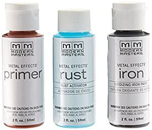 Modern Masters 306293 Rust Finish 2 Oz. Metal Effects Kit