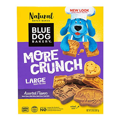 Blue Dog Bakery Natural Dog Treats, 4 Assorted Flavors, 20 Ounce Box, Packaging may vary