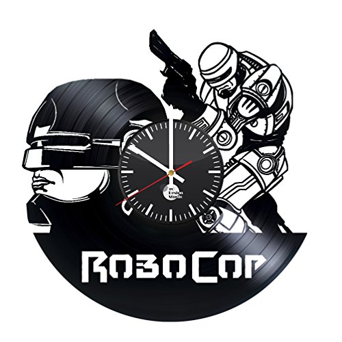 (RoboCop Movie Xbox Video Game Handmade Vinyl Record Wall Clock Vintage Unique...)