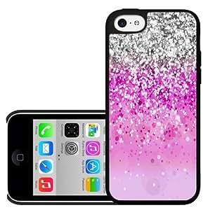 Pink Glitter Hard Snap On Case (iPhone 5c)