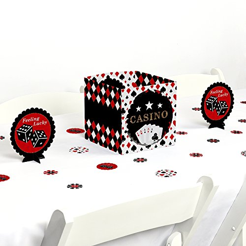Las Vegas - Casino Party Centerpiece & Table Decoration (Las Vegas Table Centerpieces)