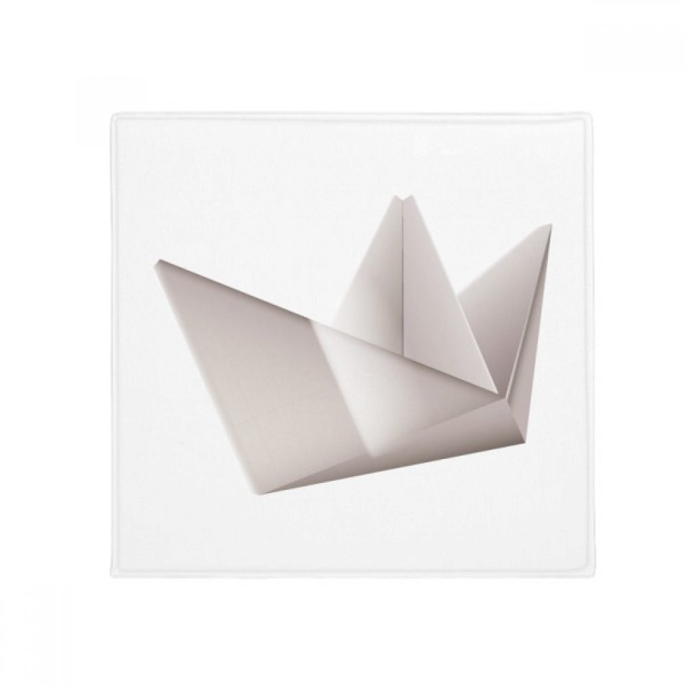 DIYthinker Origami Geometric Abstract Ship Pattern Anti-Slip Floor Pet Mat Square Home Kitchen Door 80Cm Gift