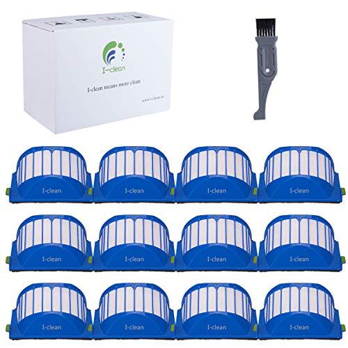 I clean Compatible iRobot Roomba Aero Vac Filter 500 & 600 Series,Replacement iRobot Roomba 536 551 550 564 620 650 690 Vacuum Accessories