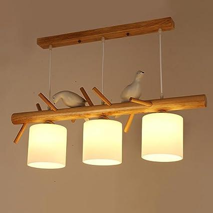 Lampadari In Legno Artigianali.Lampadario Creativo Moderno E Minimalista Creative Wood