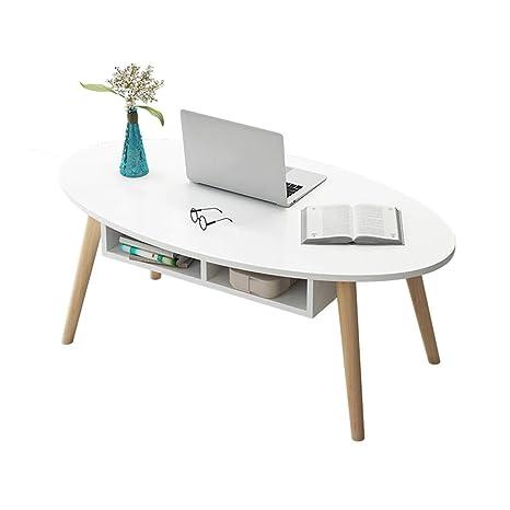 Amazon.com: ERSSST - Mesa de té redonda pequeña para salón ...