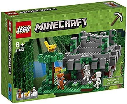 Lego Minecraft - Templo de la Jungla (21132): Amazon.es: Juguetes ...