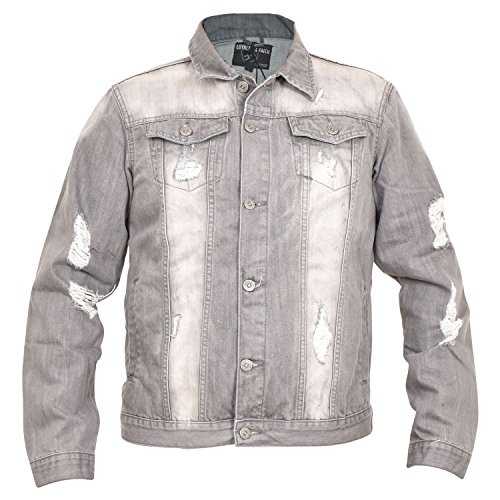 Grey L Loyalty Denim Jenson Wash Mens faith and Jacket r88ZnqzwY