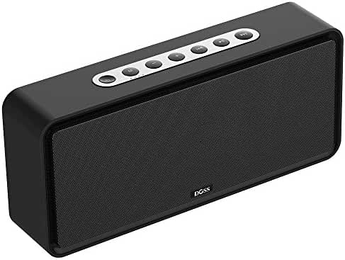 Bluetooth Speaker,DOSS SoundBox XL Bluetooth 4.0 Portable Home Speaker with 20W Driver,12W Subwoofer and More Bass,Support TF Card,Handsfree for iPhone, iPad,Samsung,Tablet,Echo Dot-Black